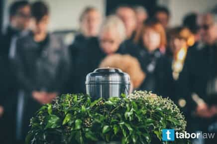Urn at a Funeral