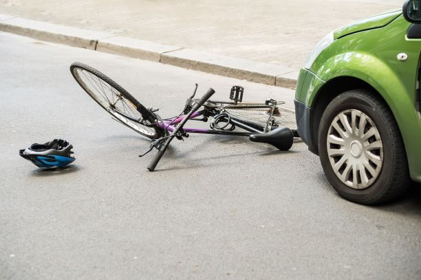 Accident Involving Bicycle and Automobile